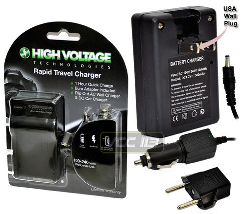 Charger FOR SONY NP-F550 F750F770F950F960F970 HIGH VOLTAG