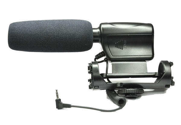 Professional JJC MIC-3 Stereo Shotgun Microphone For all Digital SLR DSLR Cameras and camcorders
