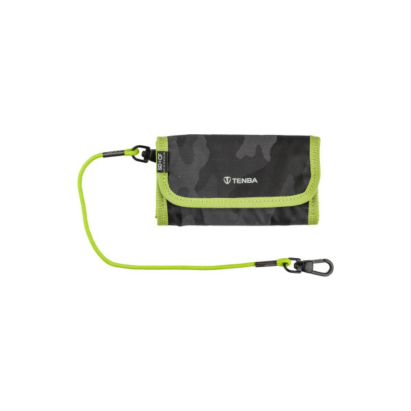 Tenba Reload SD 6 + CF 6 Card Wallet Camouflage/Lime (636-252)