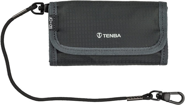 Tenba Reload SD 6 + CF 6 Card Wallet - Gray (636-251)