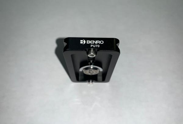 Benro PU70 Arca-Swiss Quick Release Plate