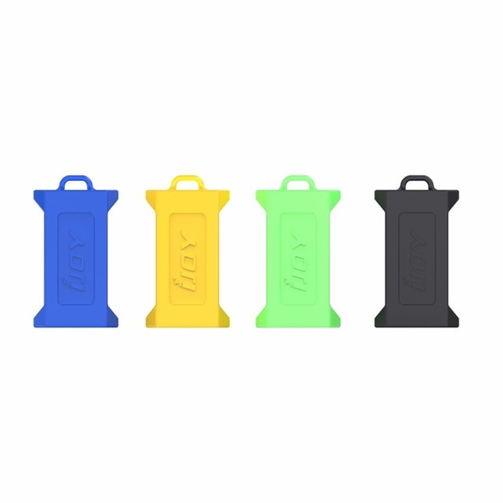 Dual 20700/21700 Battery Case - Silicone - 10 Pack
