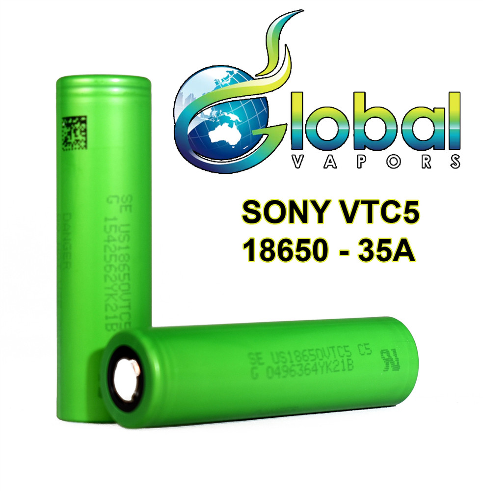 Sony VTC5 2600mAh 20A 18650 Battery (2-Pk)