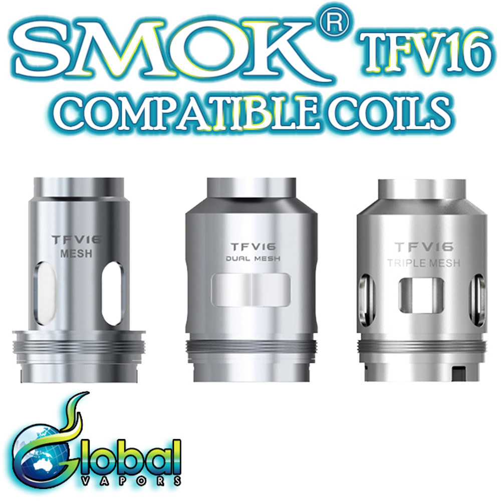 Smok TFV16 Replacement Coils (3 Pack)