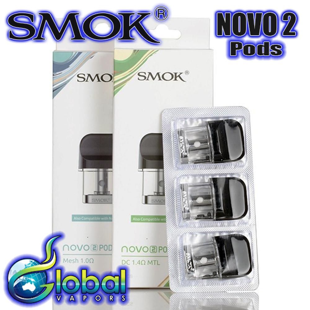 Smok Novo 2 Replacement Pods - 3pk