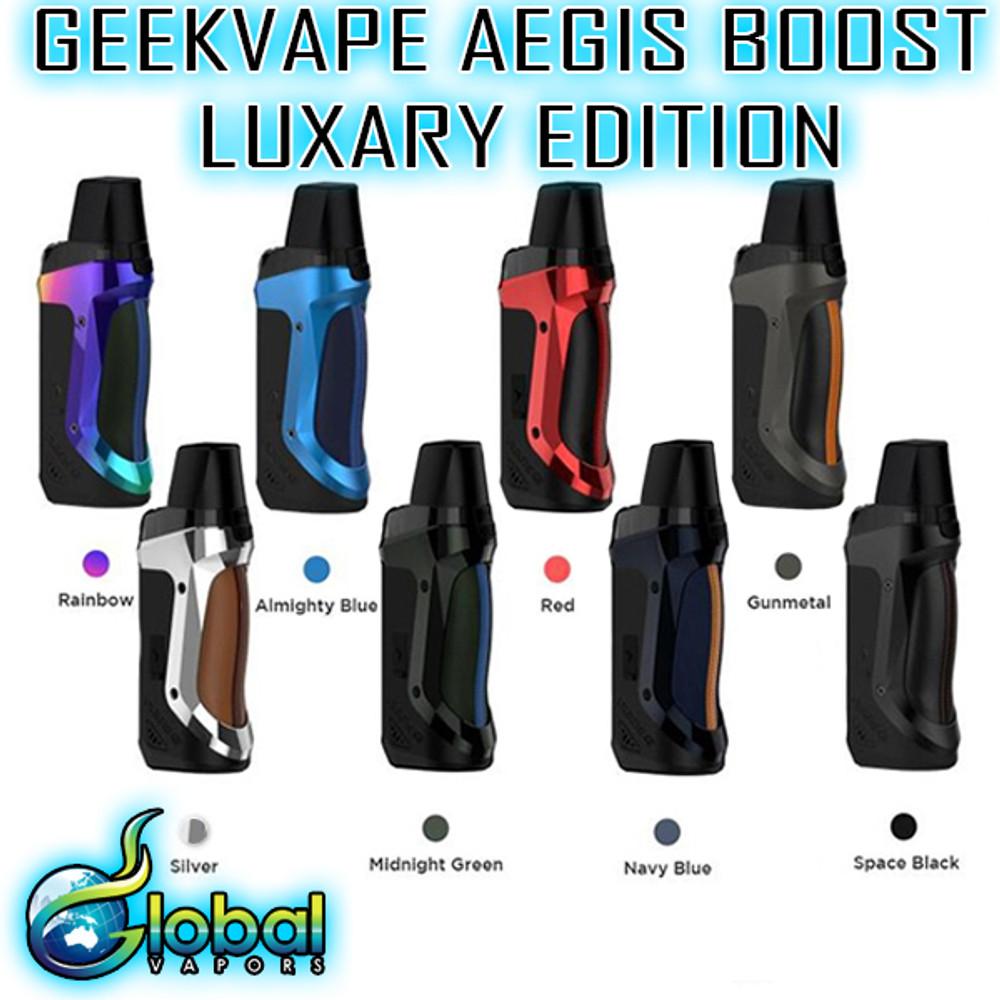 GeekVape Aegis Boost LE (With Bonus Kit)