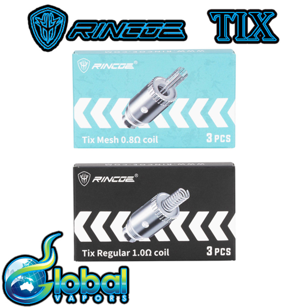 Rincoe Tix Replacement Coils (3 pack)