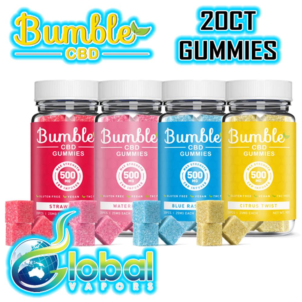 Bumble Gummies 20pc Jar - 500MG
