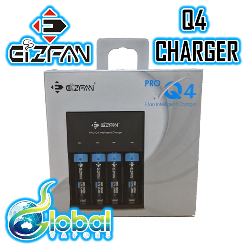EIZFAN Q4 - 4 Bay Intelligent Charger