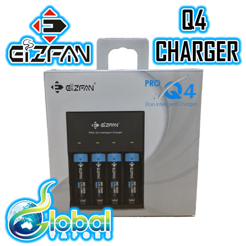 EIZFAN Pro Q4 - 4 Bay Intelligent Charger