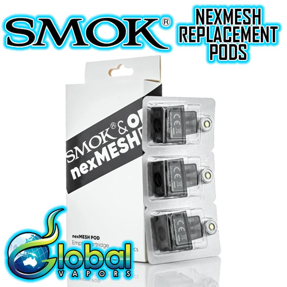 Smok Nexmesh Replacement Pod 3-Pack