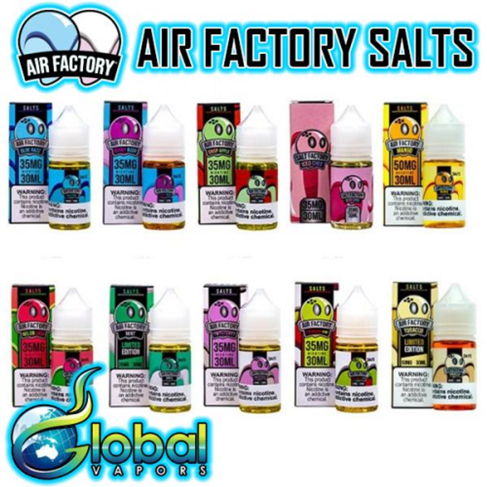 Air Factory Salts Collection - 30ml