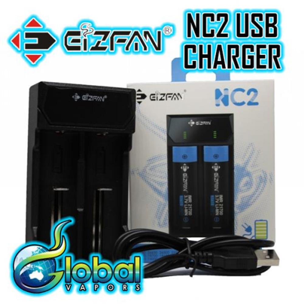 EIZFAN NC2 - 2 Bay USB Charger