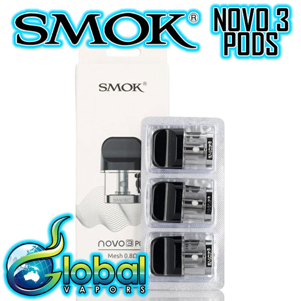 Smok Novo 3 Pods - 3pk