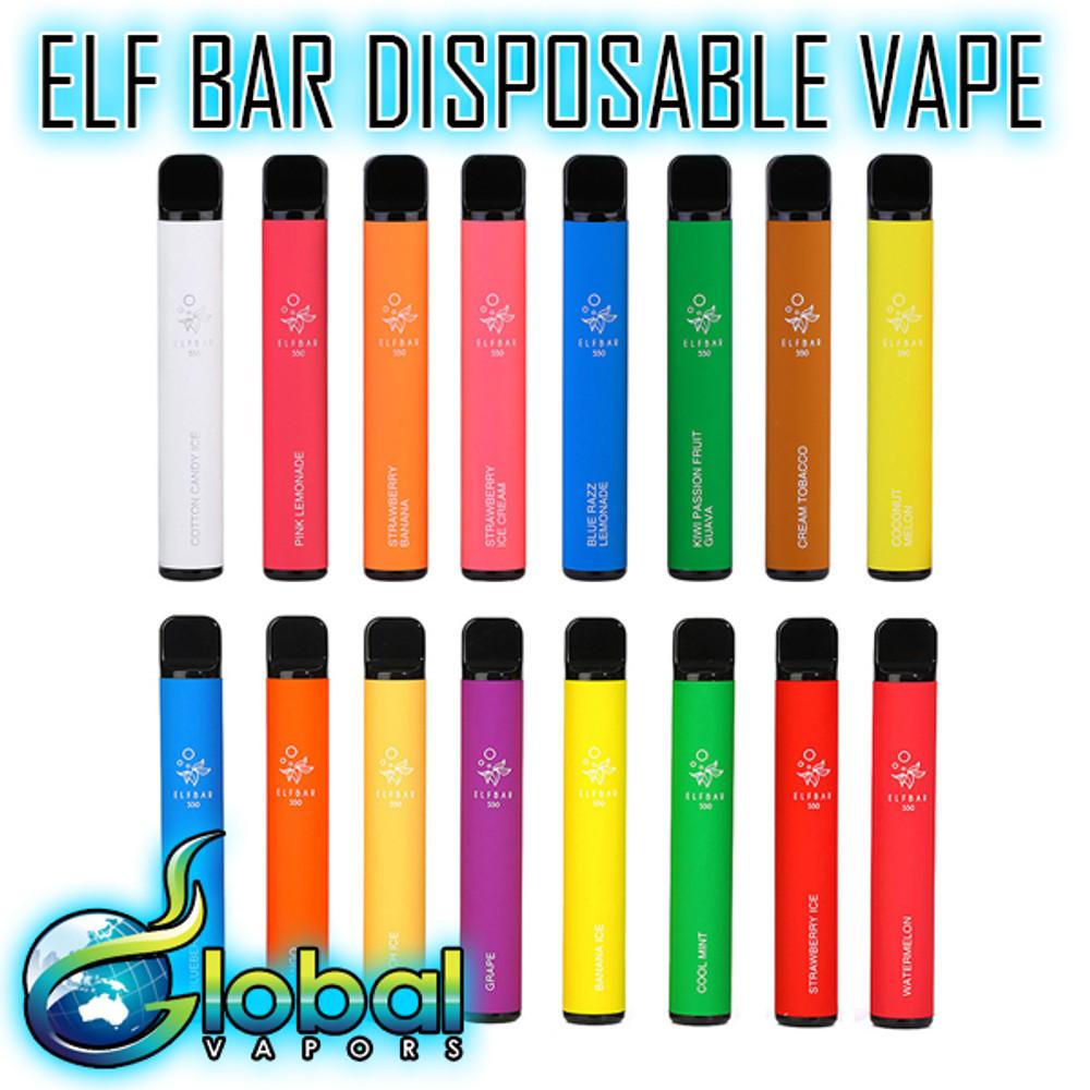 Elf Bar 1500 Puff Disposable Vape