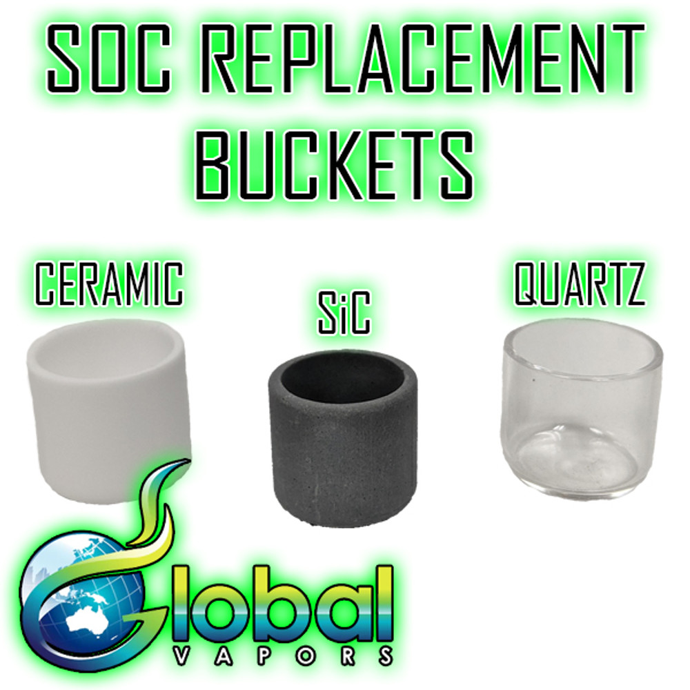 SOC Portable E-Nail Replacement Bucket