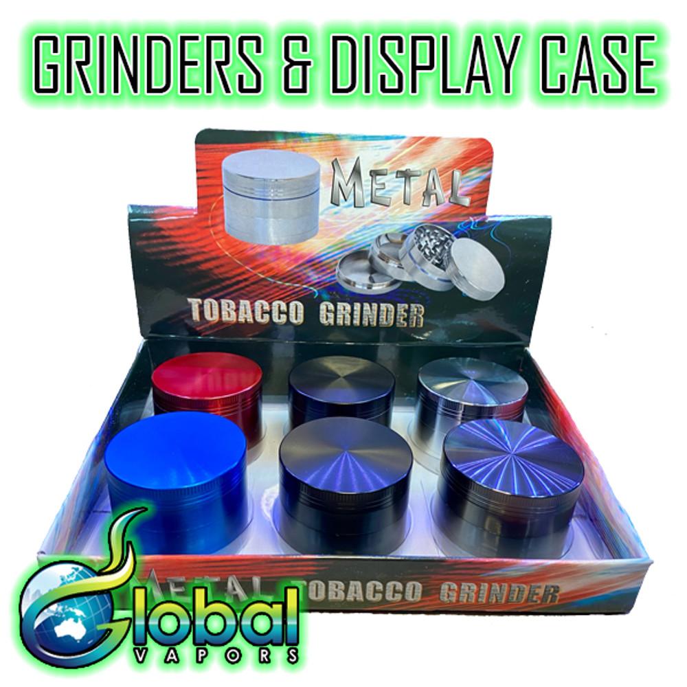 Metal Grinders - Display Case of 6