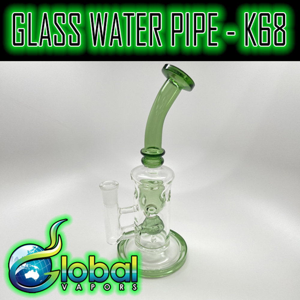 Glass Water Pipe - K68