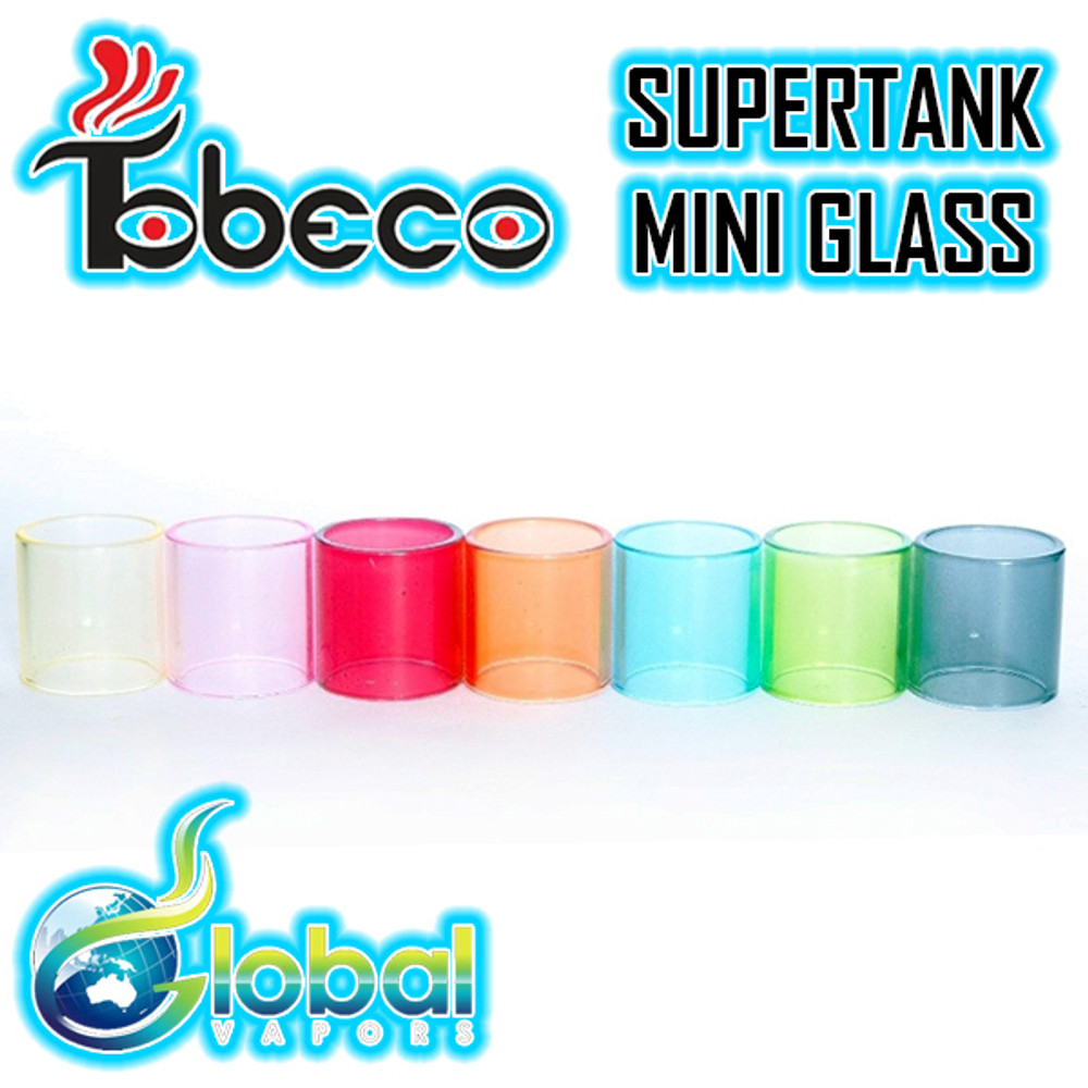 Tobeco Supertank 25mm Replacement Colored Glass