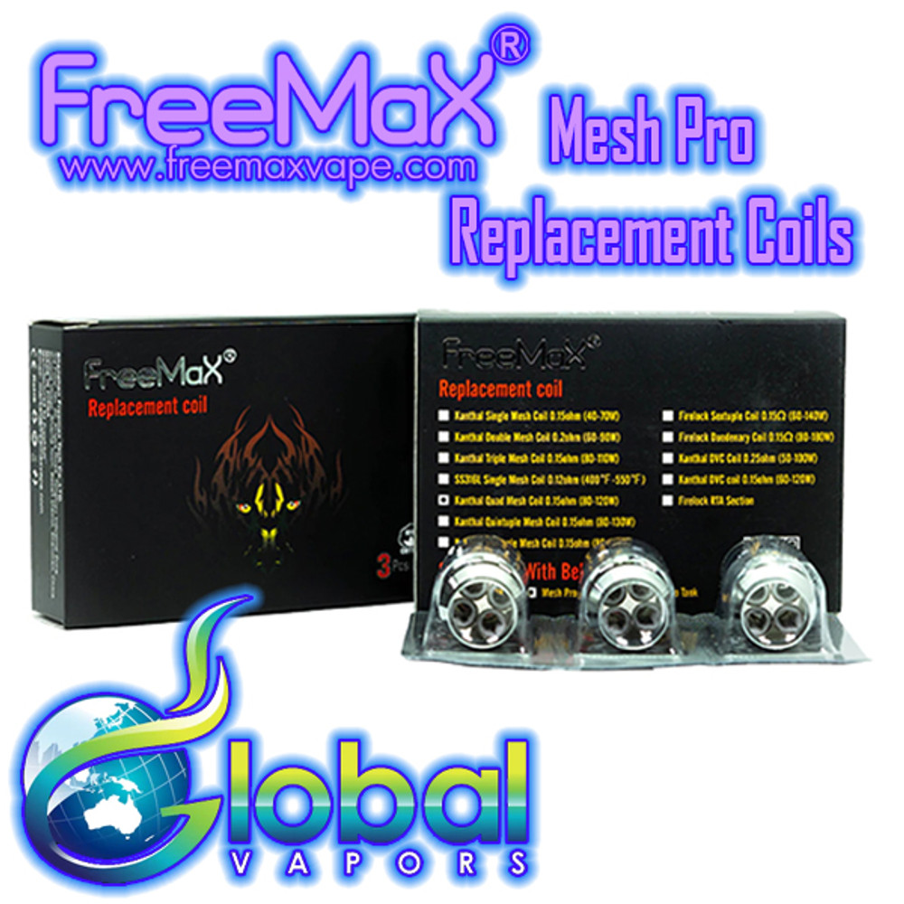 Freemax Mesh Pro Replacement Coils (3 Pack)