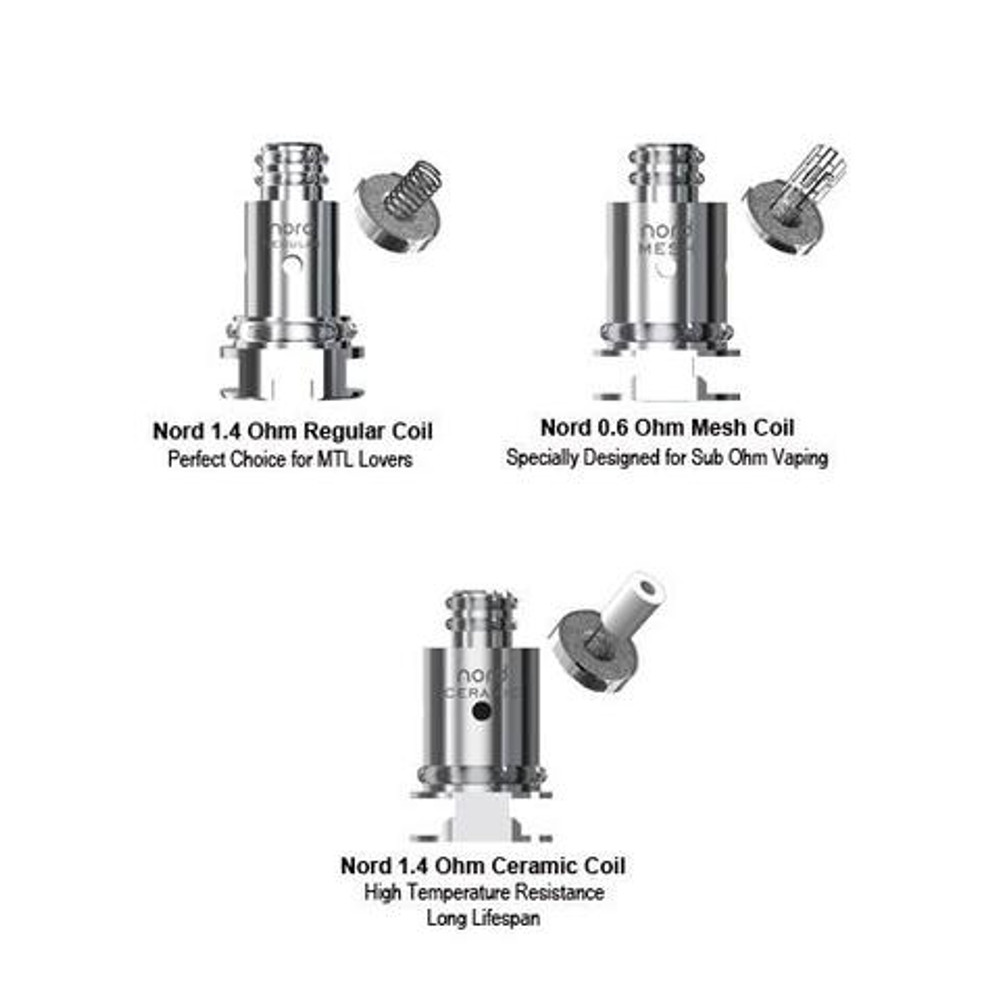 Nord Replacement Coils by SMOK