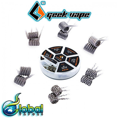 6 in 1 Pre-Built Coil Pack by Geek Vape
