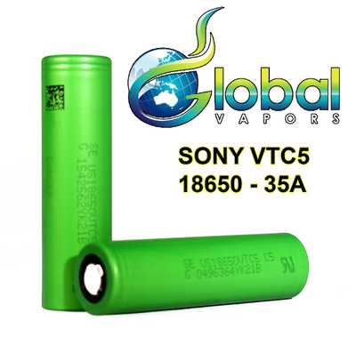 Sony VTC5 2600mAh 20A 18650 Battery (2-Pk)