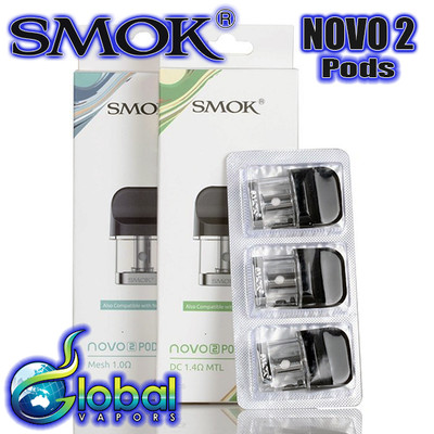 Smok Novo 2 Replacement Pods - 3pk