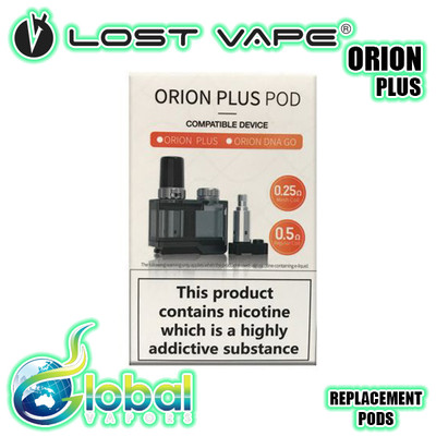 Orion Plus Replacement Pods