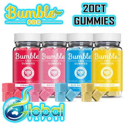 Bumble Gummies 20pc Jar - 500MG