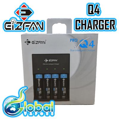 EIZFAN Pro Q4 - 4 Bay Intelligent Charger