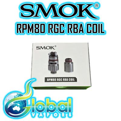 Smok RPM80 RGC RBA Coil