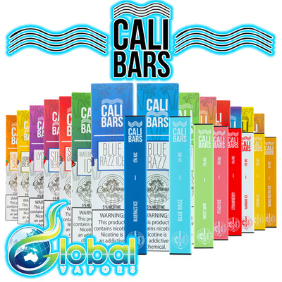 Cali Bars Disposable Vape Bar - ALL SALES FINAL -