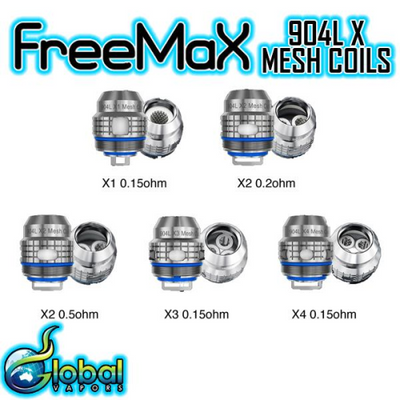 Freemax 904L X Replacement Coils