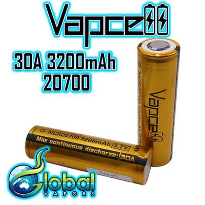 Vapcell 20700 3200mAh Battery