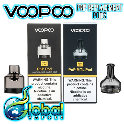 VooPoo PnP Pod Replacements - 2pk