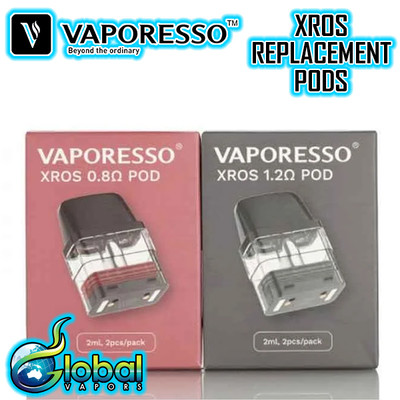 Vaporesso XROS Replacement Pods - 2 Pk