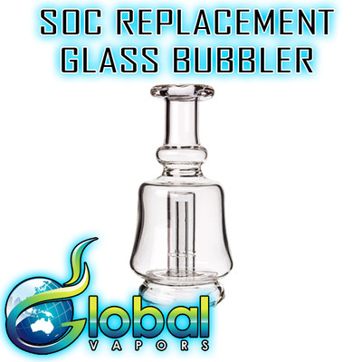 SOC Portable E-Nail  Replacement Glass Bubbler