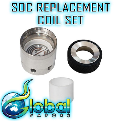 SOC Portable E-Nail  Replacement Coil Set