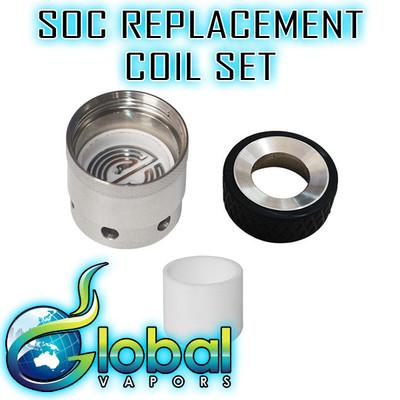 SOC Portable E-Nail  Replacement Atomizer