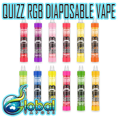 Quizz RGB Flash - Rechargeable 2600 Puff Disposable
