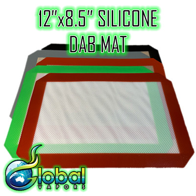"""12"""" x 8.5"""" Rectangle Silicone Dab Mat"""