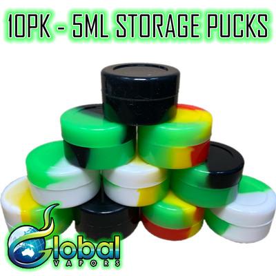 5ml Silicone Puck - 10pk