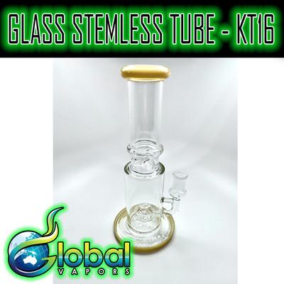 Glass Stemless Tube - KT16