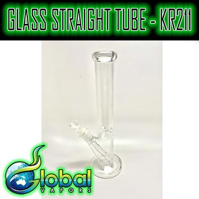 Glass Straight Tube - KR211