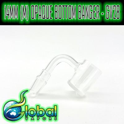 14mm M 90° Opaque Bottom Banger - GV28