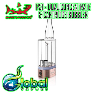 Hamilton Devices PS1 2-in-1 Dual Cart & Concentrate Bubbler