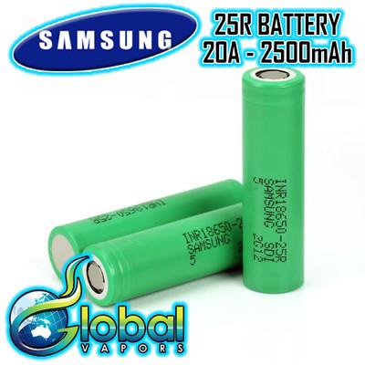 Samsung 25R 18650 Battery