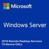 Windows Server 2016 Remote Desktop Services - 10 Device CALs