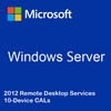 Windows Server 2012 Remote Desktop Services - 10 Device CALs